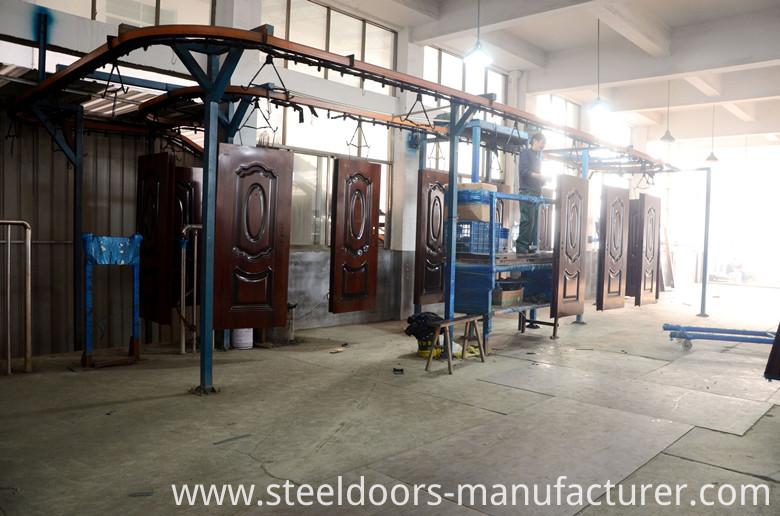 Ce Fire-Proof Steel Door for Poland (HD001)