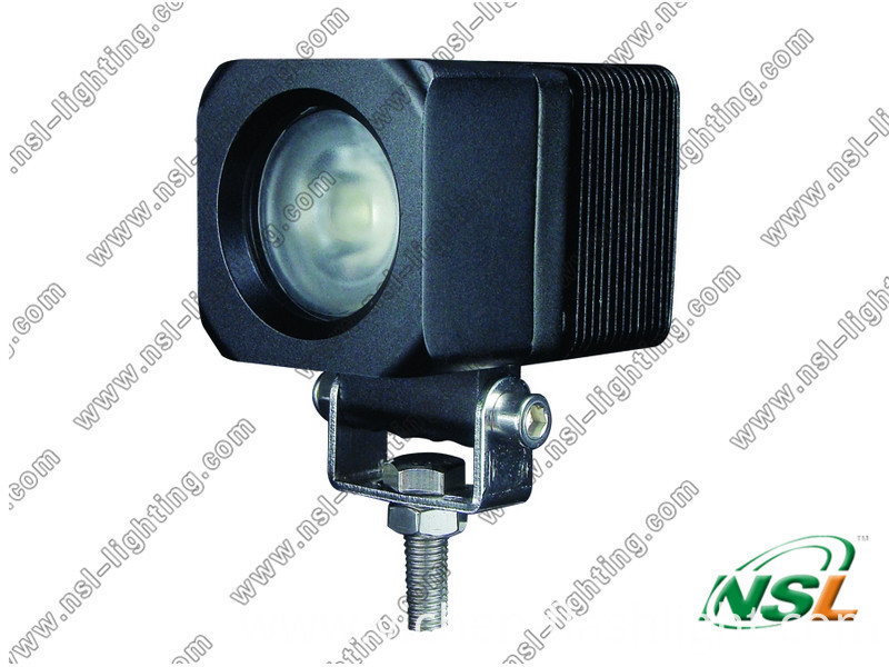 Newest 10W CREE LED Work Light 4X4 Fog Lamp for Truck Offroad