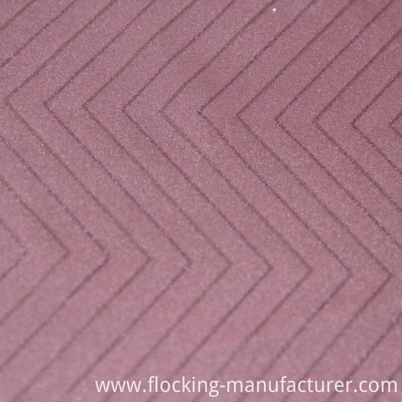 Woven Polyester Jacquard Fabric with Knitted Fabric for Apparels