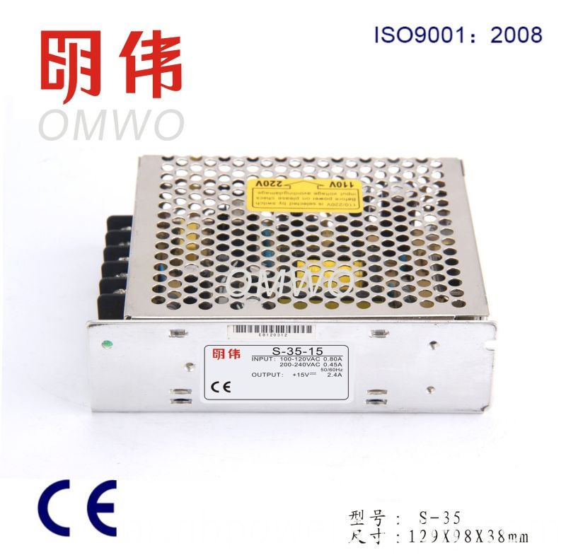 35W 12V 3A Switching Power Supply