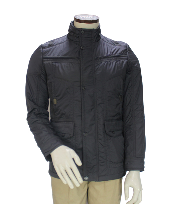 Cheap Men Custom Thin Style Heather Grey Jacket with Outdoor Clothing