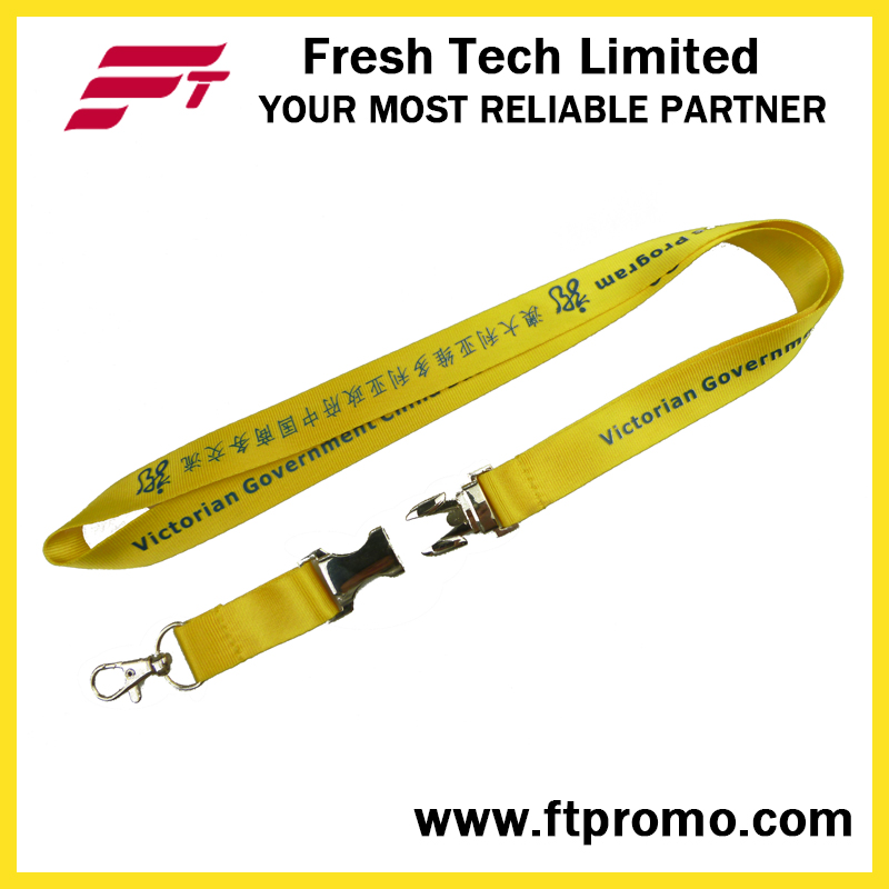 Chinese Business Style Polyester Lanyard with Your Logo