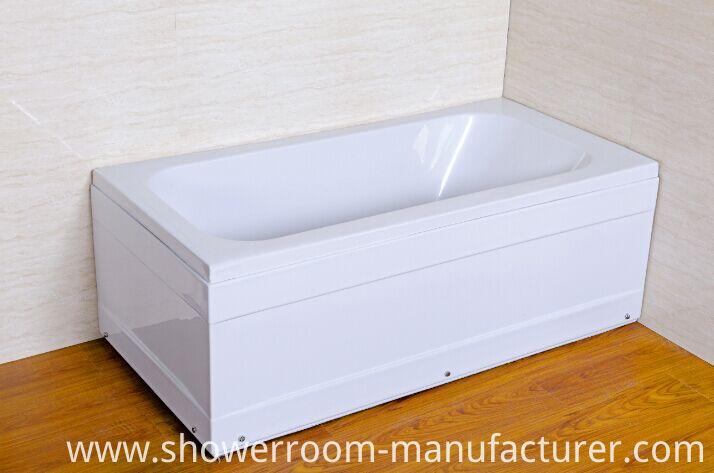 Acrylic Simple Built-in Bathtub (CL-711)