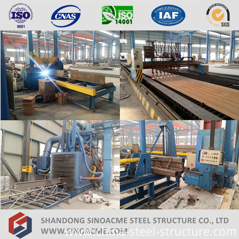 Heavy Steel Structure Chemical Plant