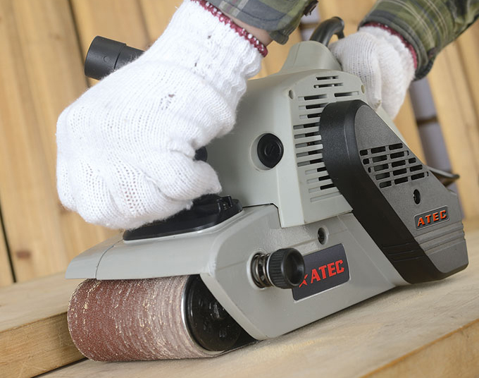 Mini No-Customized Hand Woodworking Industrial Belt/Orbital Sander (AT5201)