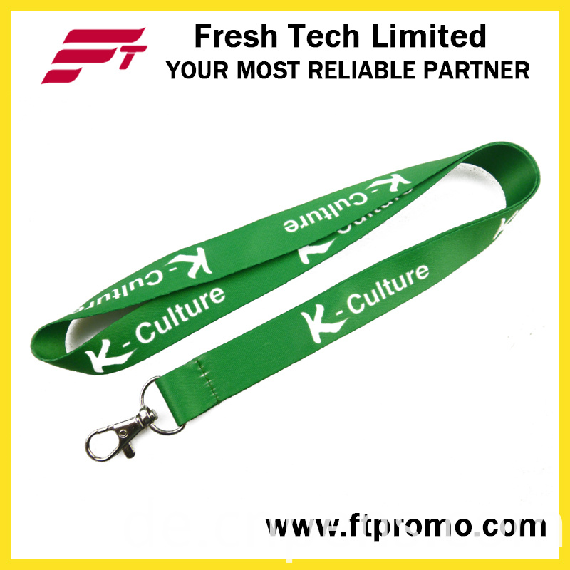 Professional Manufacture Heat Transfer Printed Lanyard with Logo