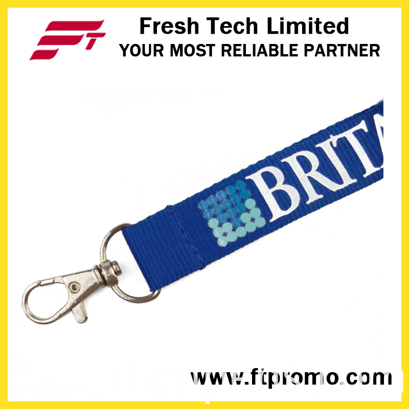 High Quality Cheap Polyester Lanyard with Logo Design