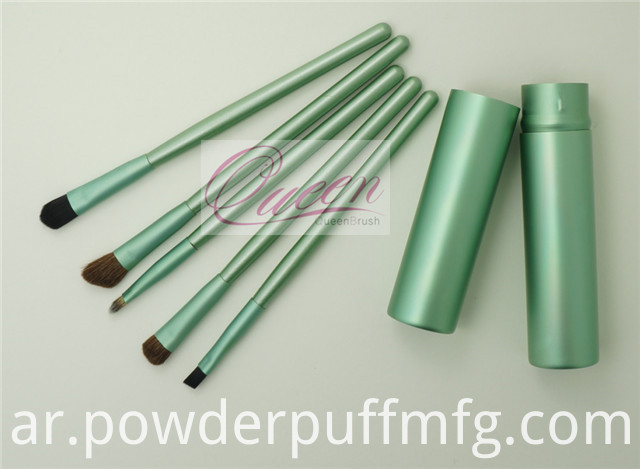 2014 Popular Christmas Promotional Mini Cosmetic Brush Set