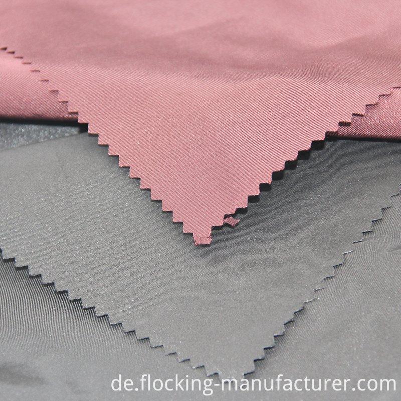 Twill Shiny Semi-Memory Fabric for Shiny Jacket