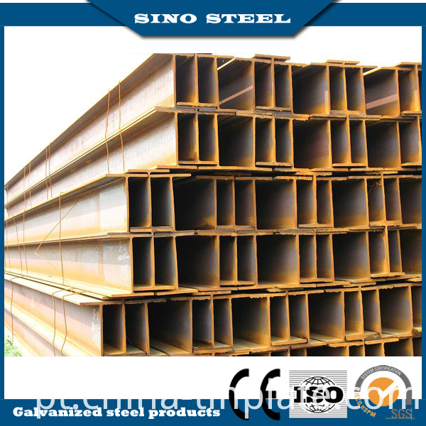 Ss400 Q235 Q345 Hot Rolled Steel I Beams for Structure