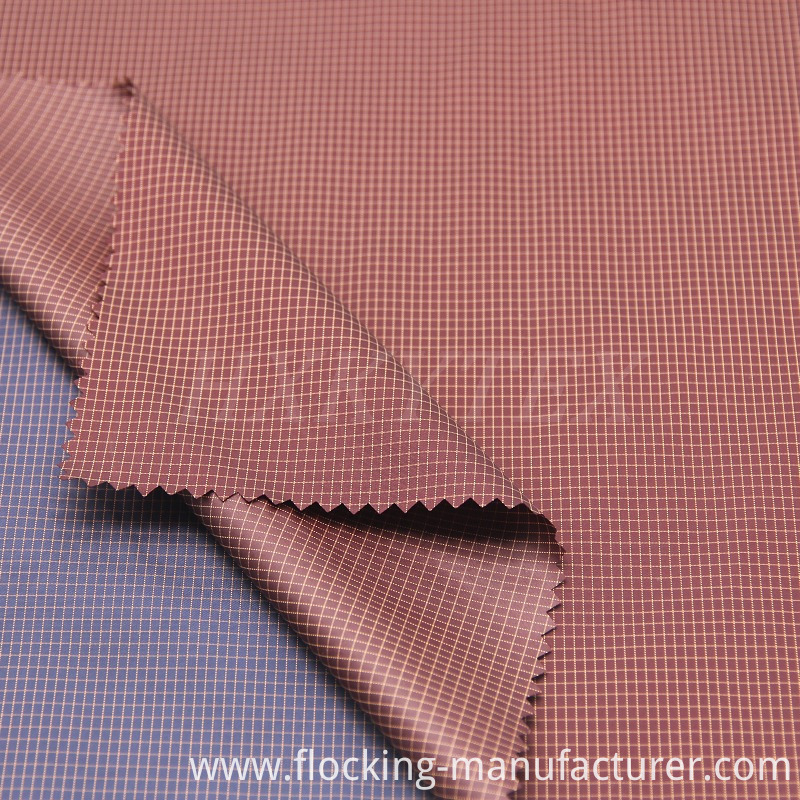 Nylon with Polyester Ripstop Fabric for Lightweight Coat