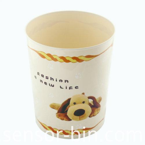 Fashion Puppy Dog Living Room Waste Bin (FF5228)