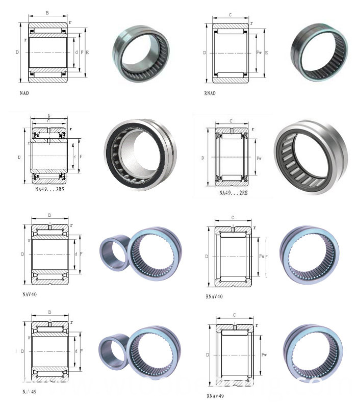 Entity Bushed Needle Roller Bearing with (without) Inner Ring Rna4922