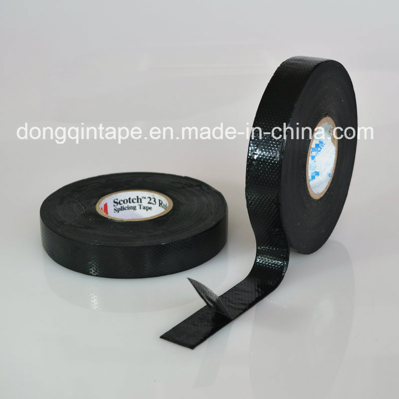 High Voltage Self-Fusing Rubber Tape for Communications Cable Connections, Pipeline Protection, Remedy and Sealing