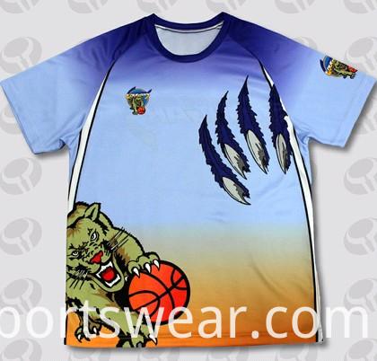2015 New Fashion Sublimation T Shirt and Custom T -Shirt