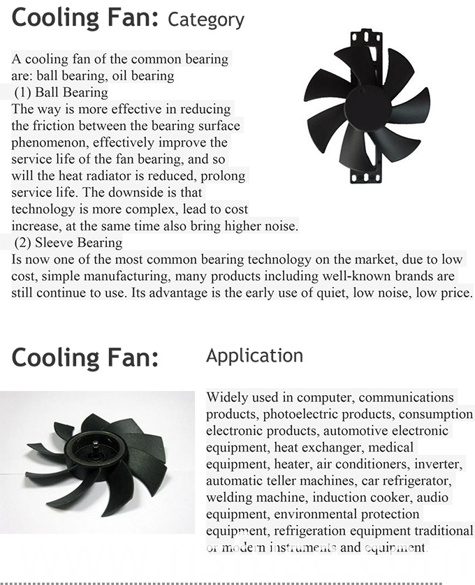 High Quality ATV Cooling Fans Professional Custom-Made