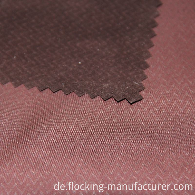 Embossed Printed Fake Memory Fabric for Spring Coat