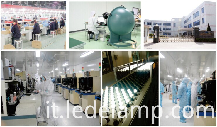 High Brightness 5W LED Bulb with Alum and Plastic Material (GHD-B0542-X20)