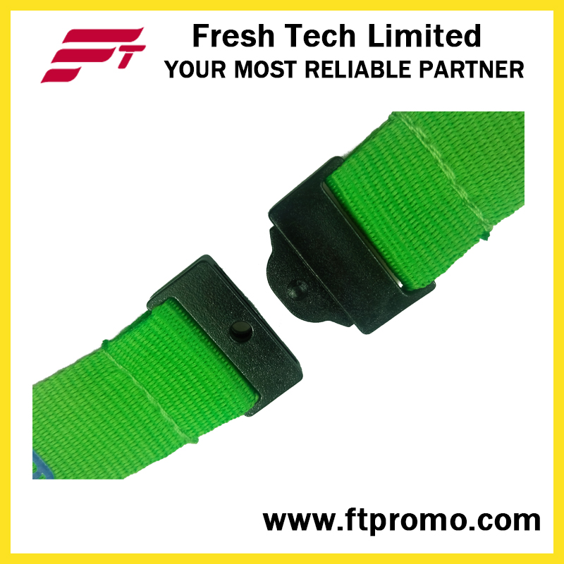OEM Company Promotion Polyester Lanyard for Screen Printing