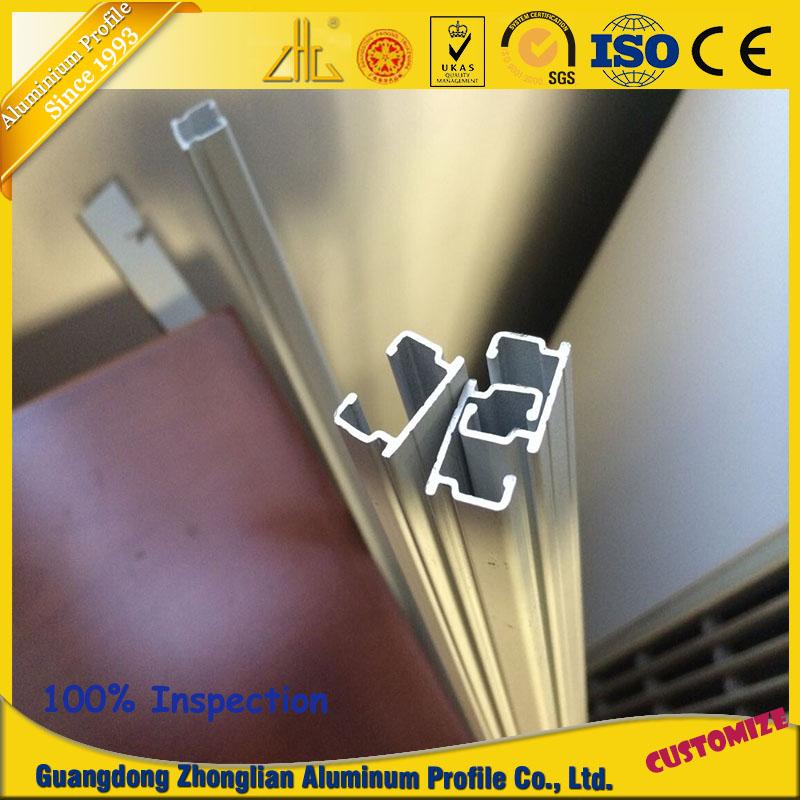 OEM Hot Sales Furniture Aluminum Extrusion Profile for Hanging Rail