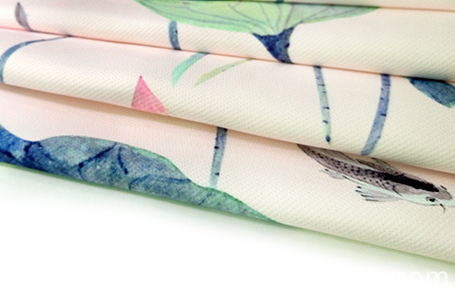 Graceful Printed Twill Dobby Garment Fabric, Home Textile Fabric
