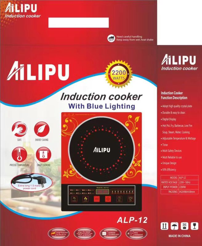 Ailipu 2200W ALP-12 Cheap Price Good Quantity Electric Induction Cooker