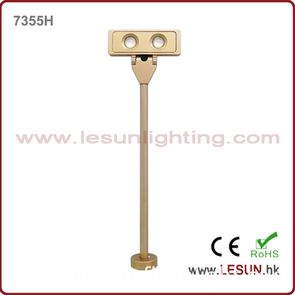 Gold 2W LED Jewelry Pole Light for Showcase LC7355h