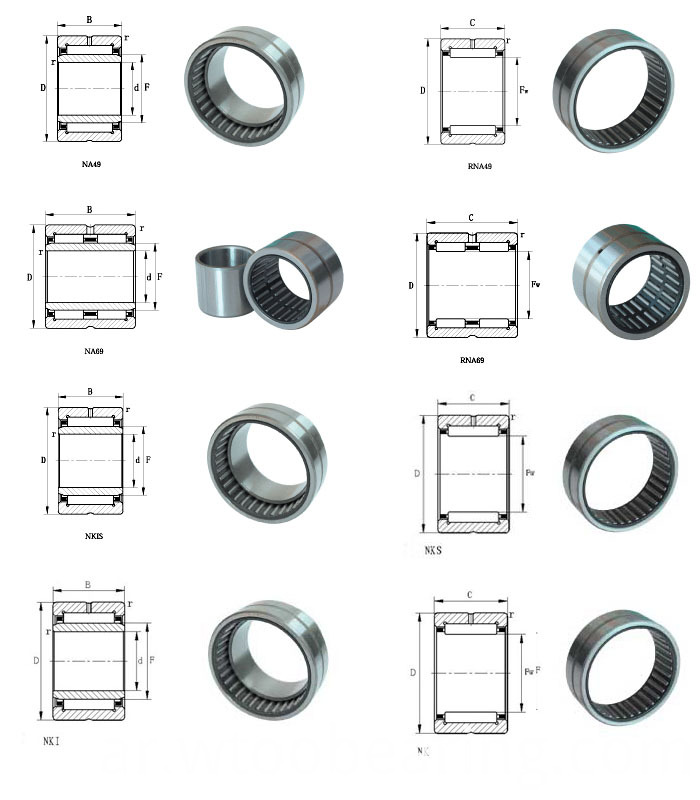 Entity Bushed Needle Roller Bearing with (without) Inner Ring Na6908