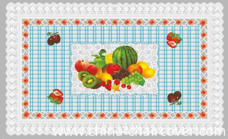 Independent Design LFGB Oko-Tex 100 Transparent Printed Tablecloth 80*130cm