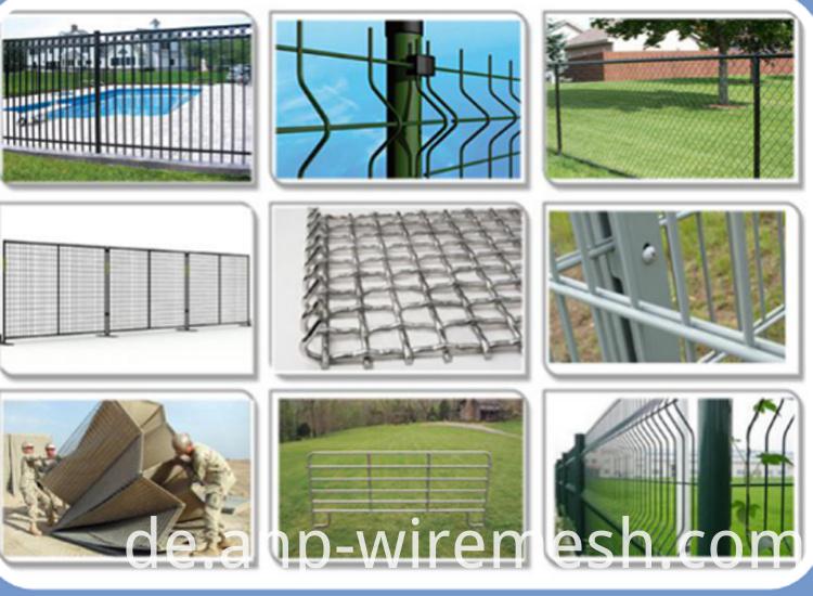 Draht geschweißte Rinderplatten Zaun