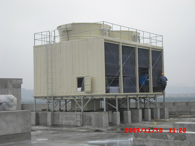 Big Cross Flow FRP Square Cooling Tower Jn-350L/D