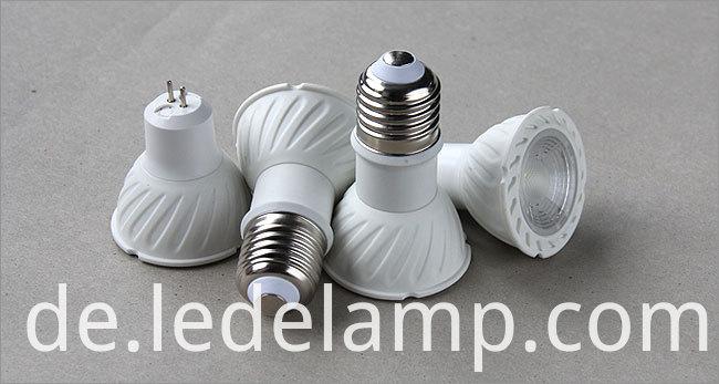 Creative Similar COB Chip Gu5.3 5W Warm White LED Spotlight