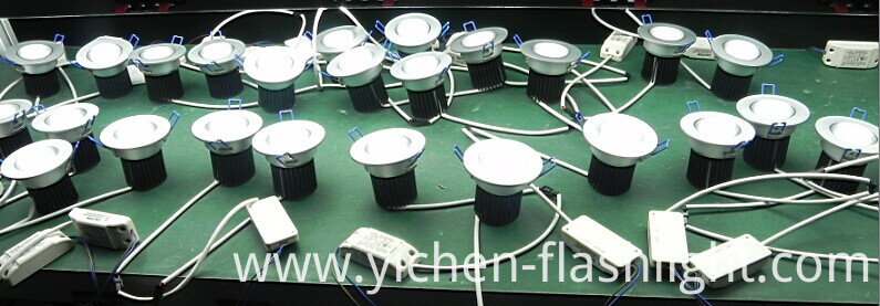Recessed Instal 7W/7X3w LED Ceiling Downlight