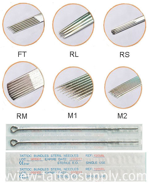 Wholesale Cheap Series Tattoo Needles with Brand Quality