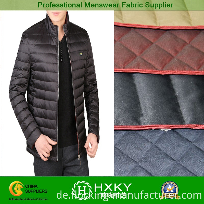 Polyester Quilt Padding Fabric for Padded Jacket