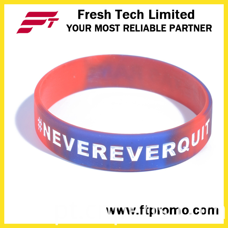 Hot Selling Sports Gifts Silicone Wristband