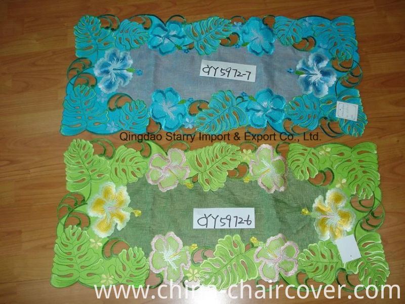 Handmade Cutwork Table Runner