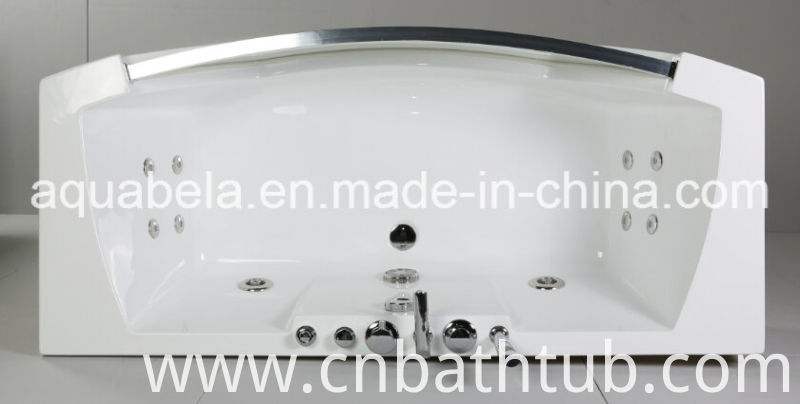 Luxury Acrylic Whirlpool Jacuzzi Hot Tub Massage Bathtub with Jet