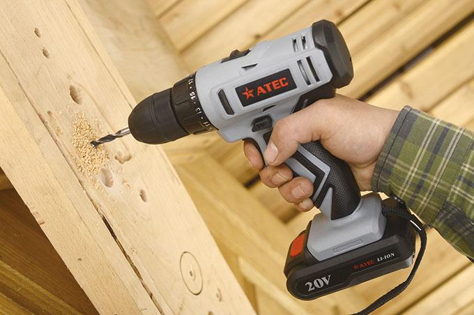 Compact Ni-CD Battery Power Tool Cordless Driver Drill (AT7511)