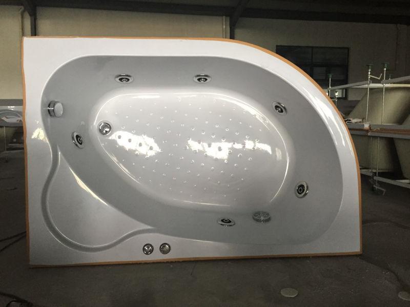 Acrylic Indoor Jacuzzi Bathtub (CL-337)