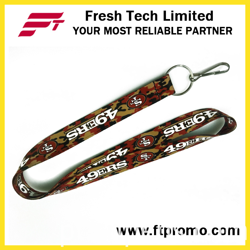 Cheapest Promotion Lanyard for Heat Transfer Printing