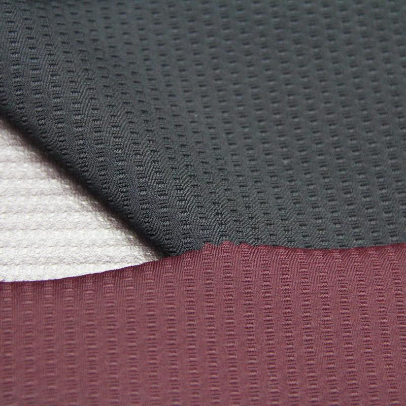 Polyester Jacquard Knitted Fabric with TPU Breathable Coating