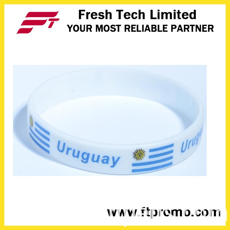 OEM Promotional Gift Eco-Friendly Silicone Wristband