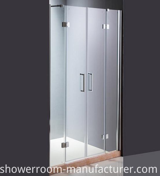 2 Hinge Door Glass Shower Screen (ADL-8A5)