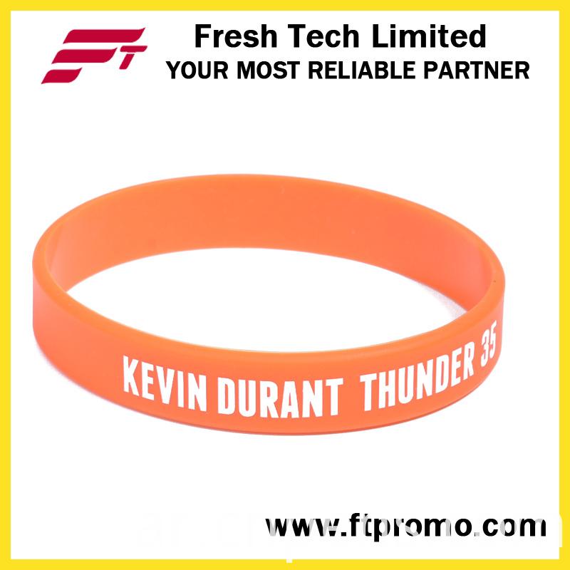 Customized Promotion Gifts Sports Silicone Bracelet
