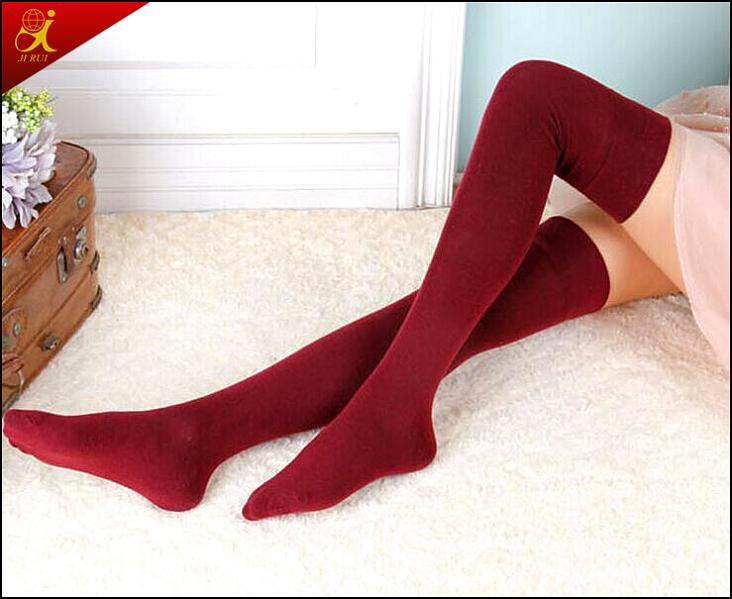 Long Knee Girl Fashion Sock Compression Hosiery