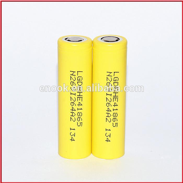 LG HE4 3.7v 2500mah battery
