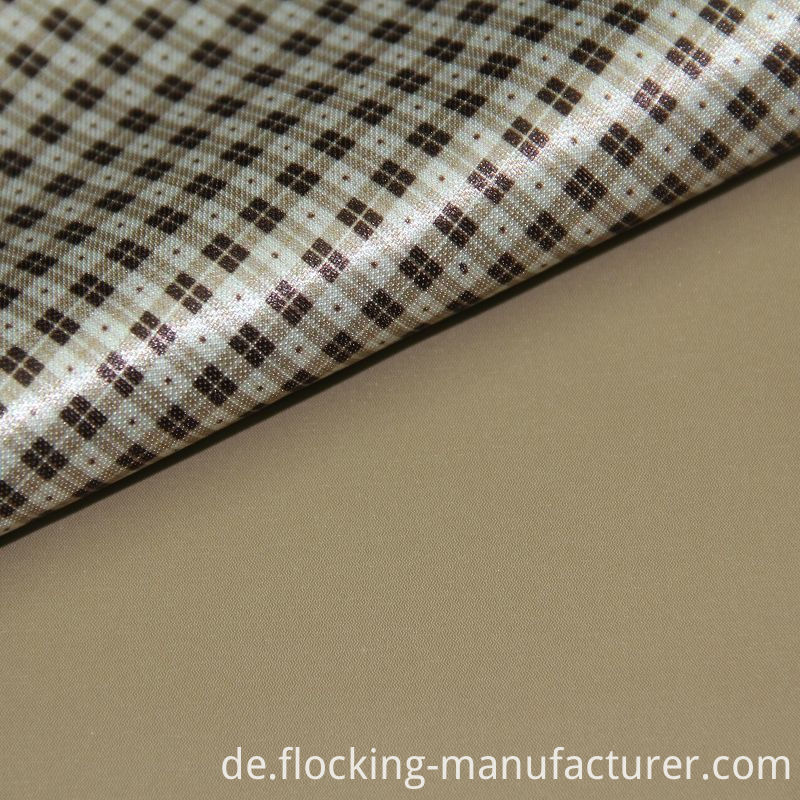 Polyester Composite Print Knitting Fabric for Jacket
