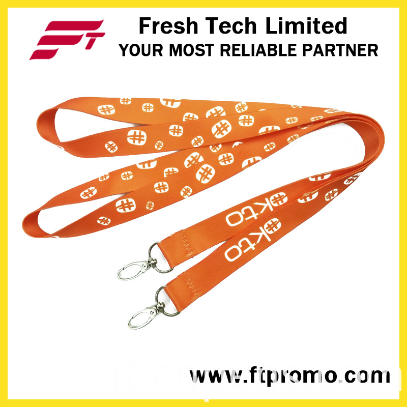 High Quality ID Card Polyester Lanyard with Customized Logo