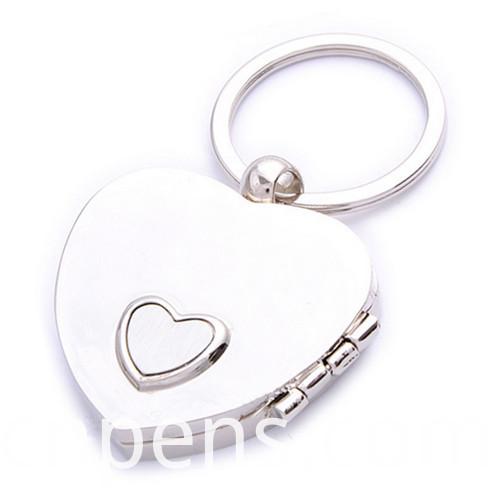 Promotion Gift Wholesale Laser Engrave Logo Metal Photo Keychain (F1349)
